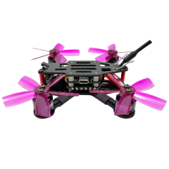 SPCMAKER  90S 90mm Brushless FPV Racing Drone BNF Version 600TVL HD CMOS Camera Omnibus F3 flight controller 15A Mini 4 in 1 BLheli_s ESC (2-4S LiPo)