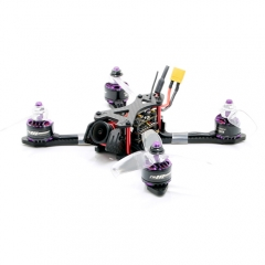 SPCMAKER 140X Brushless FPV Racing Drone PNP Version RunCam Micro Eagle  Omnibus F4 flight controller  20A Mini 4 in 1 BLheli_s ESC (2-4S LiPo)