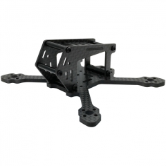 SPCMAKER 100SP 100mm 3K Full Carbon Fiber Frame Kit