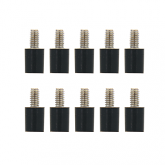 10PCS Realacc M2*5+4  Flight Controller Anti-Vibration Fixed Screws for RC Drone FPV Racing